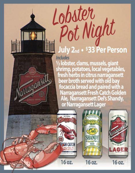 Lobster Pot Night at Coastal