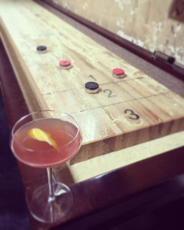 Coastal Kitchen Shuffleboard
