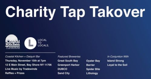 Charity Tap Takeover at Coastal Kitchen