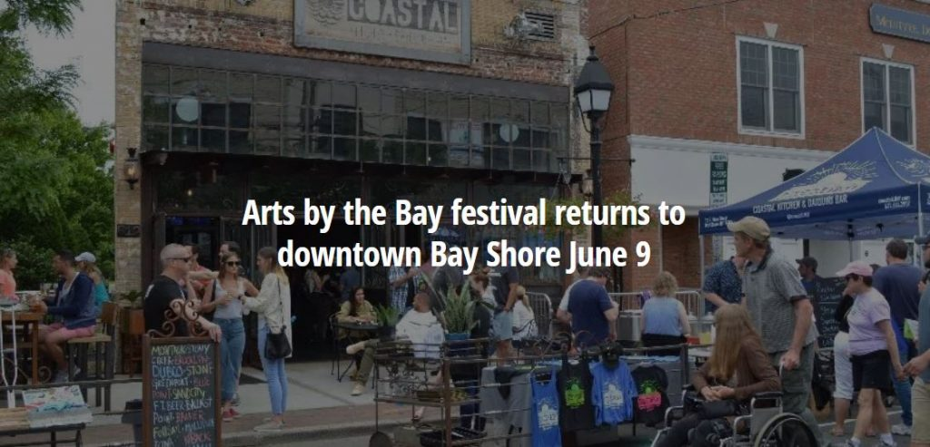 Arts by the Bay Festival Returns to Downtown Bay Shore June 9th
