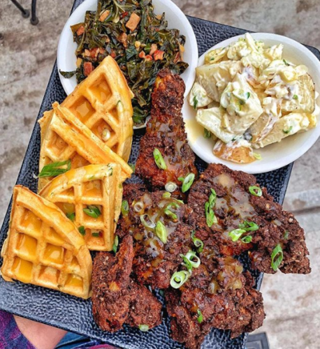 Fried Chicken & Waffles from Coastal Kitchen