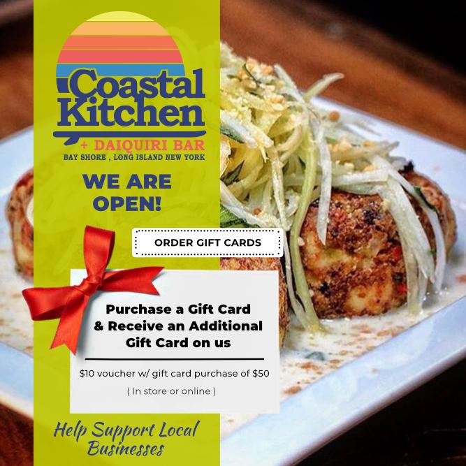 bay shore restaurant gift card long island