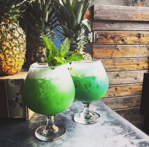 Green Rum Punch from Coastal